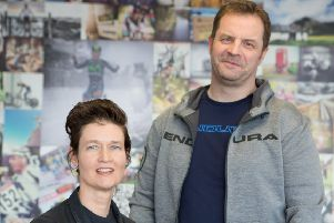Jim McFarlane and Pamela Barclay of Endura