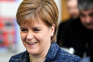 Nicola Sturgeon is the tenth most admired figure in the UK. Picture: Jeff J Mitchell/PA Wire
