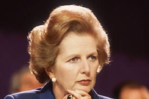 Margaret Thatcher, British Conservative politician and first woman to hold the office of Prime Minister of Great Britain. Pic: Hulton Archive/Getty Images