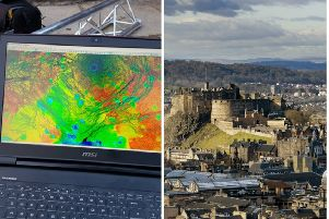 Scientists at Historic Environment Scotland used advanced 3D imaging technology to explore Edinburgh Castle.