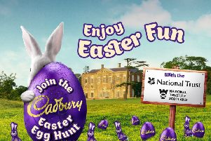 Picture: Cadbury Easter Egg Hunt