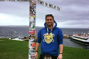 Jamie Shannon , Haggis Adventures tour guide who fell off a cliff in Orkney and died.