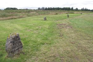 Mass graves at Culloden.