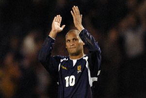 Former Scotland international Nigel Quashie paid tribute to Ray Wilkins. Picture: Toby Williams