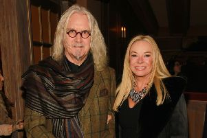 Billy Connolly with his wife. Picture: Mark Von Holden.