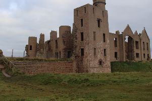 Slains Castle which has inspired writers for centuries has won B-listed status.