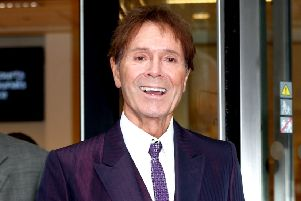 Sir Cliff Richard leaves the Rolls Building in London, where a High Court judge has been hearing evidence in a legal battle between Sir Cliff and the BBC.