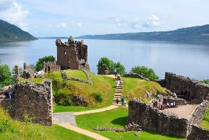 Urquhart Castle on the banks of Loch Ness is the third most visited historic property in Scotland. PIC: Creative Commons/Nilfanion.
