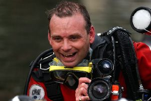 Tributes have poured in for the award winning photo-journalist and underwater photographer. Picture:  JUSTIN SPITTLE