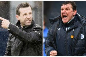 Neil McCann, left, has stirred things up once more between him and St Johnstone boss Tommy Wright. Pictures: SNS Group
