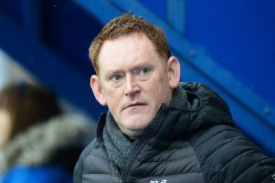 Livingston manager David Hopkin. Picture: SNS