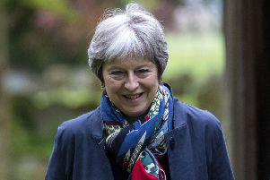 the Prime Minister is reported to have been warned she could be ousted unless she sacks her chief Civil Service Brexit negotiator Oliver Robbins. Picture: ~PA