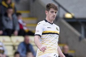 Dougie Hill was on target for Dumbarton. Picture: SNS.