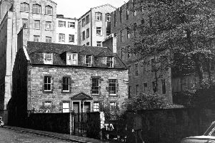 Thistle Court in the 1960s. Picture: TSPL