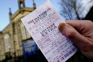 A lottery ticket.
