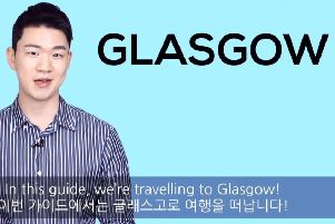 Korean Billy has created a student guide to the city of Glasgow. Picture: Korean Billy/YouTube