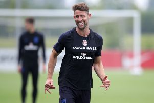 Gary Cahill had to dig deep to win back his place with Chelsea and England. Picture: PA.