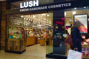 Cosmetic chain Lush has come under fire for its latest advertising campaign