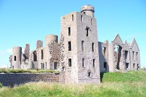 The incident happened near Slains Castle
