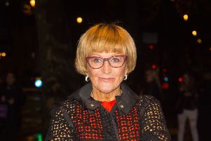 Anne Robinson says women are still having to put up with inappropriate behaviour from men. Picture: Dominic Lipinski/PA Wire