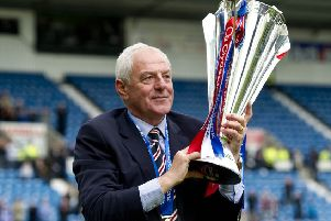 Former 'Rangers boss Walter Smith. Picture: SNS