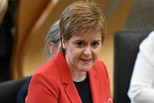 The First Minister wrote to police constables Laura Sayer, 39, and Kenny MacKenzie, 43, to thank them for their service and dedication. Picture:  Jeff J Mitchell/Getty Images
