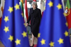 The YouGov survey found 47 per cent  of voters thought the decision to leave was wrong, against just 40 per cent  who said it was the right thing to do. Picture: AP Photo/Olivier Matthys