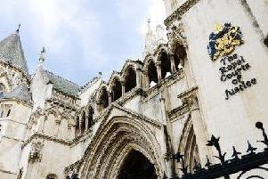 The High Court in London where the case was heard