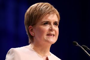 The First Minister has hailed the scheme for three and four-year-olds, as well as some two-year-olds, as 'transformative' with hopes it would allow a generation of mothers to return to the workplace. Picture: PA
