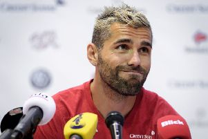 Valon Behrami is playing at his fourth World Cup finals in a row. Picture: Getty.