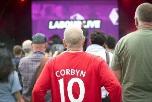 Labour was unable to recapture the 'Oh Jeremy Corbyn' magic of Glastonbury with its festival in north London. Picture: PA
