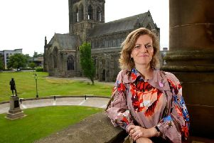 Leonie Bell has been charged with building on Paisley's bid to become UK City of Culture.