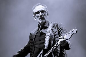 Elvis Costello is back on tour with The Imposters and has a new album due out soon. Picture: christina@asgard-uk.com