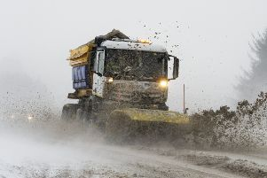 Councils dipped into their reserves to deal with the harsh winter weather.'Picture: Ian Rutherford