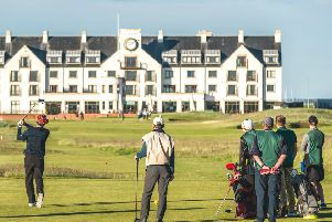CARNOUSTIE GOLF LINKS. Golf has been played in Carnoustie for well over four centuries.