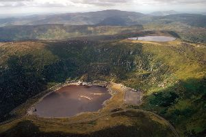The proposed Red John scheme in Loch Ness would be a pumped-storage hydroelectric system, similar to this example at Turlough Hill in the Republic of Ireland