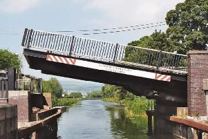 Twechar bridge has been out of action since January. Picture: Inland Waterways Association