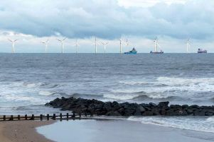 First power generated by offshore wind farm at heart of Trump row