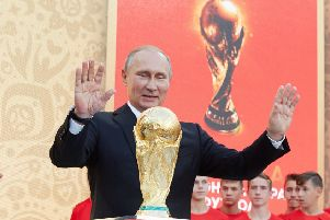 Putin and the world cup (Photo by Oleg Nikishin - FIFA/FIFA via Getty Images)