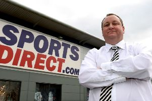Sports Direct founder Mike Ashley is a former Rangers shareholder. Picture: PA