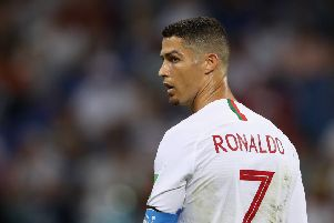 Cristiano Ronaldo is set to join Juventus. Picture: Getty Images