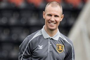 Livingston player manager Kenny Miller. Pic: SNS/Alan Rennie