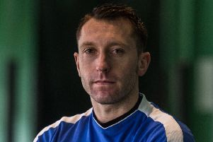 Stephen Dobbie grabbed a hat-trick for Queen of the South. Picture: John Devlin