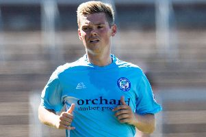 Forfar's Thomas Reilly scored the decisive penalty in the shootout. Picture: Ross Parker/SNS