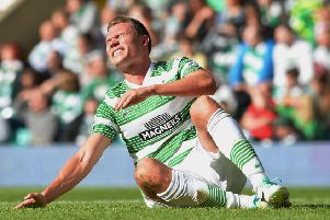 Derk Boerrigter struggled with injuries during his time at Celtic. Picture: Getty