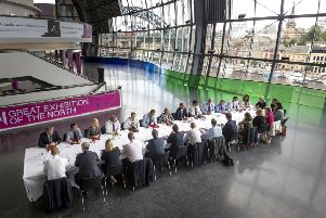 Theresa May holds a cabinet meeting in Gateshead yesterday ''as MPs warned of serious concerns about the lack of progress in the negotiations to date and the impact on security co-operation. Picture: Danny Lawson - WPA Pool/Getty Images
