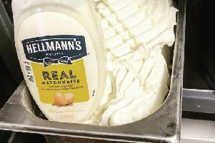The mayonnaise flavour ice cream you can try in Falkirk (Photo: Ice Falkirk)