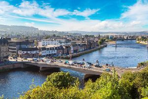 Inverness will see some of the highest temperatures in Scotland today (Photo: Shutterstock)
