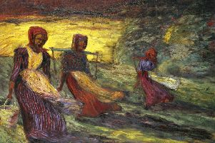 Milkmaids I, 1903'by Emil Nolde PIC: � Nolde Stiftung Seeb�ll