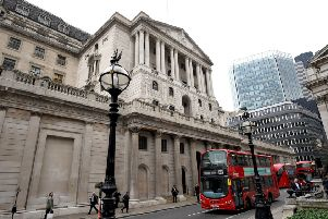 The Bank of England has increased interest rates to their highest level for nearly 10 years. Picture: PA Wire